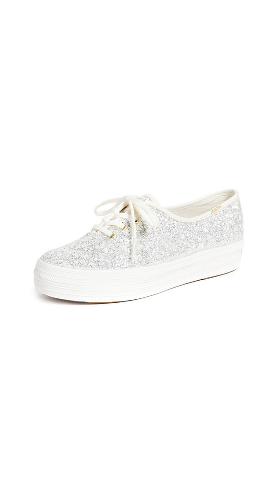 Keds x Kate Spade New York Triple Sneakers in cream