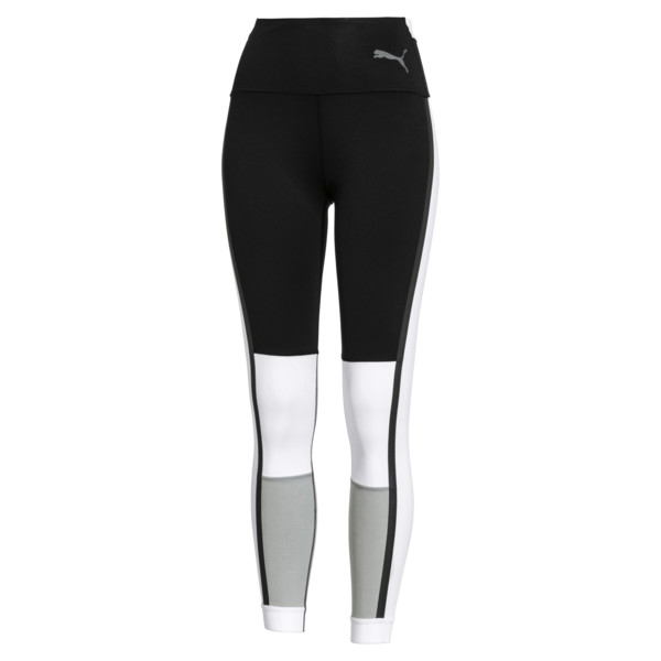SG x PUMA 7/8 Tight | Puma Black-White-High Rise | PUMA Leggings | PUMA United States