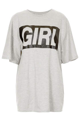 Girl Tee - T-Shirts - Tops  - Clothing - Topshop USA