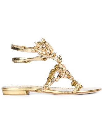 women sandals grey metallic shoes