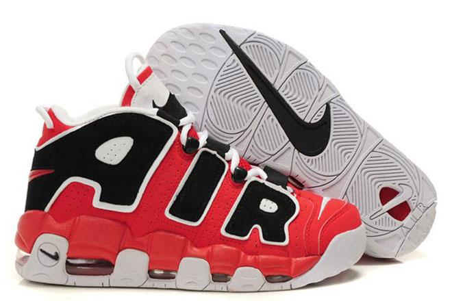 Air More Uptempo Varsity Red/Black-White Nike Men's Shoes