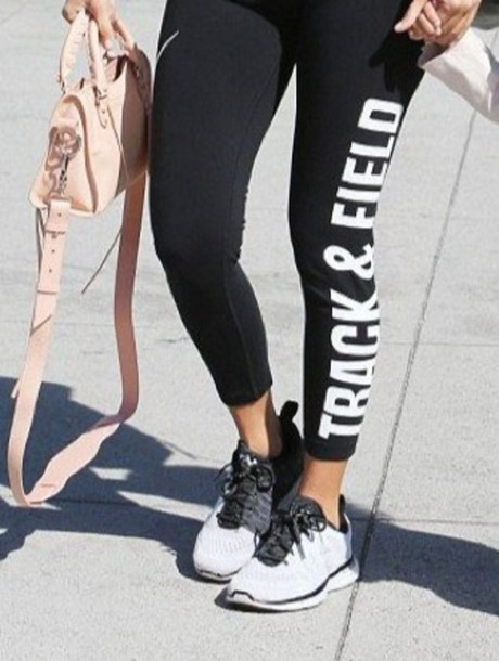 Shoes Kourtney Kardashian Black Grey Nike Shoes Mesh Workout - Wheretoget
