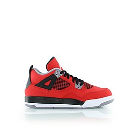 jordan - KIDS JORDAN 4 RETRO (PS) - sneakers high - rot/schwarz - KICKZ.COM