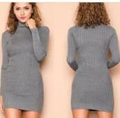 dress,black,bodycon,size 12,knitwear