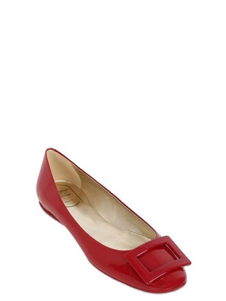 flats leather dark dark red red shoes