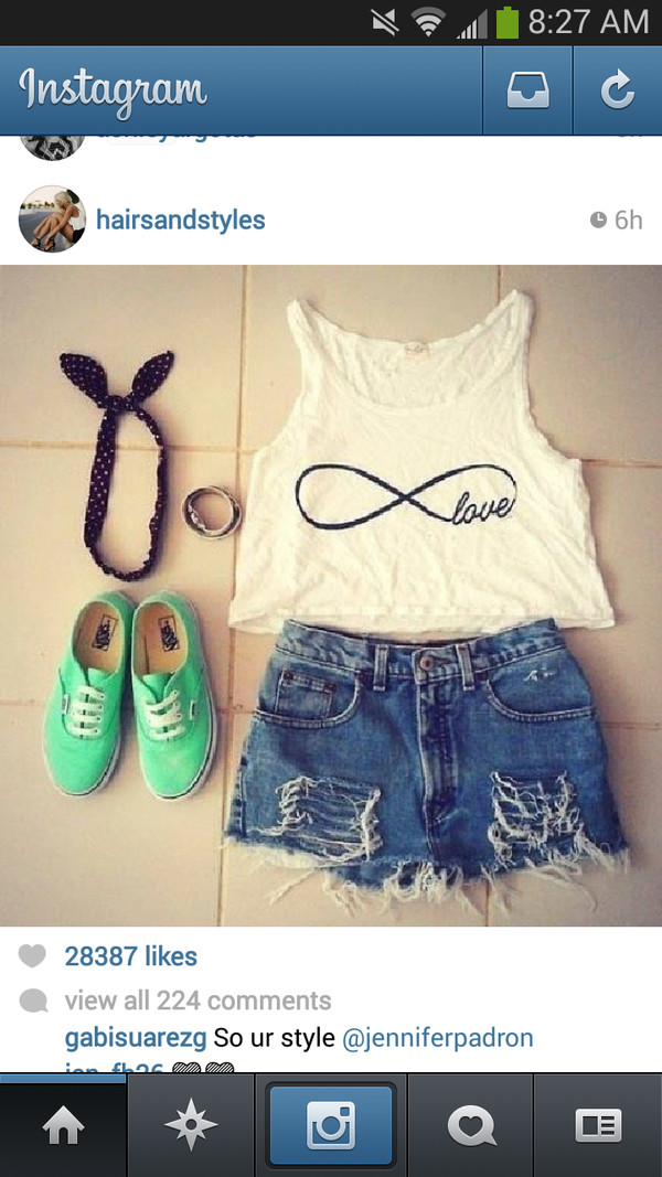 shirt infinity tank top crop tops