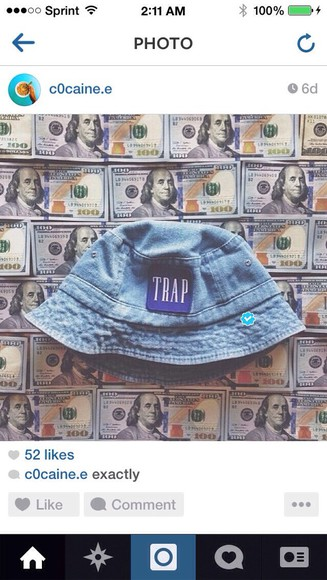 hat bucket hat trap