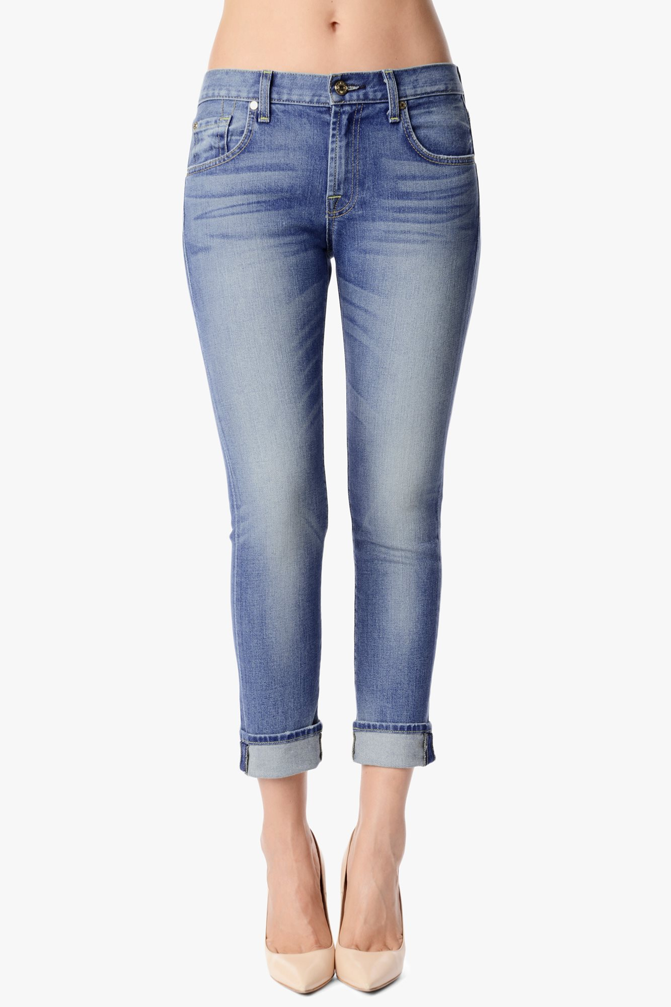 Relaxed Skinny In Super Heritage Light Blue | 7 For All Mankind