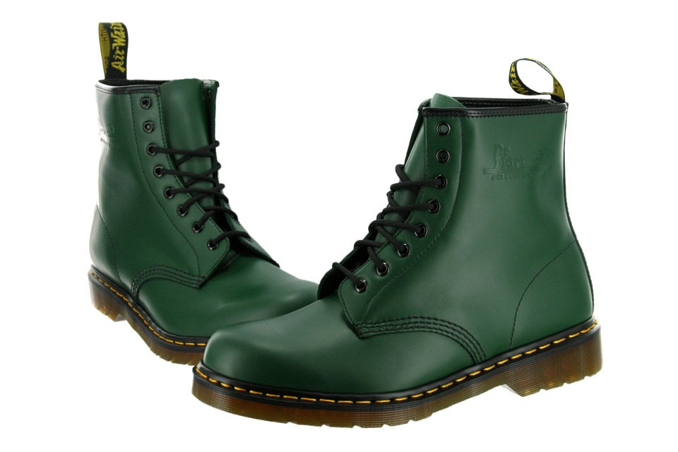 $80.00 Dr. Martens 1460 Green Vert Smooth Boots Men