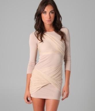 dress pink dress cream dress short dress