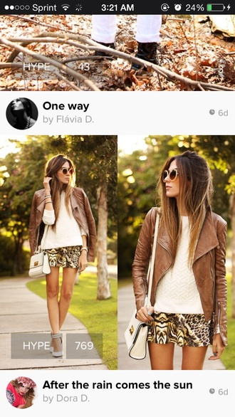 jacket leather jacket brown brown jacket with hood brown jacket outerwear