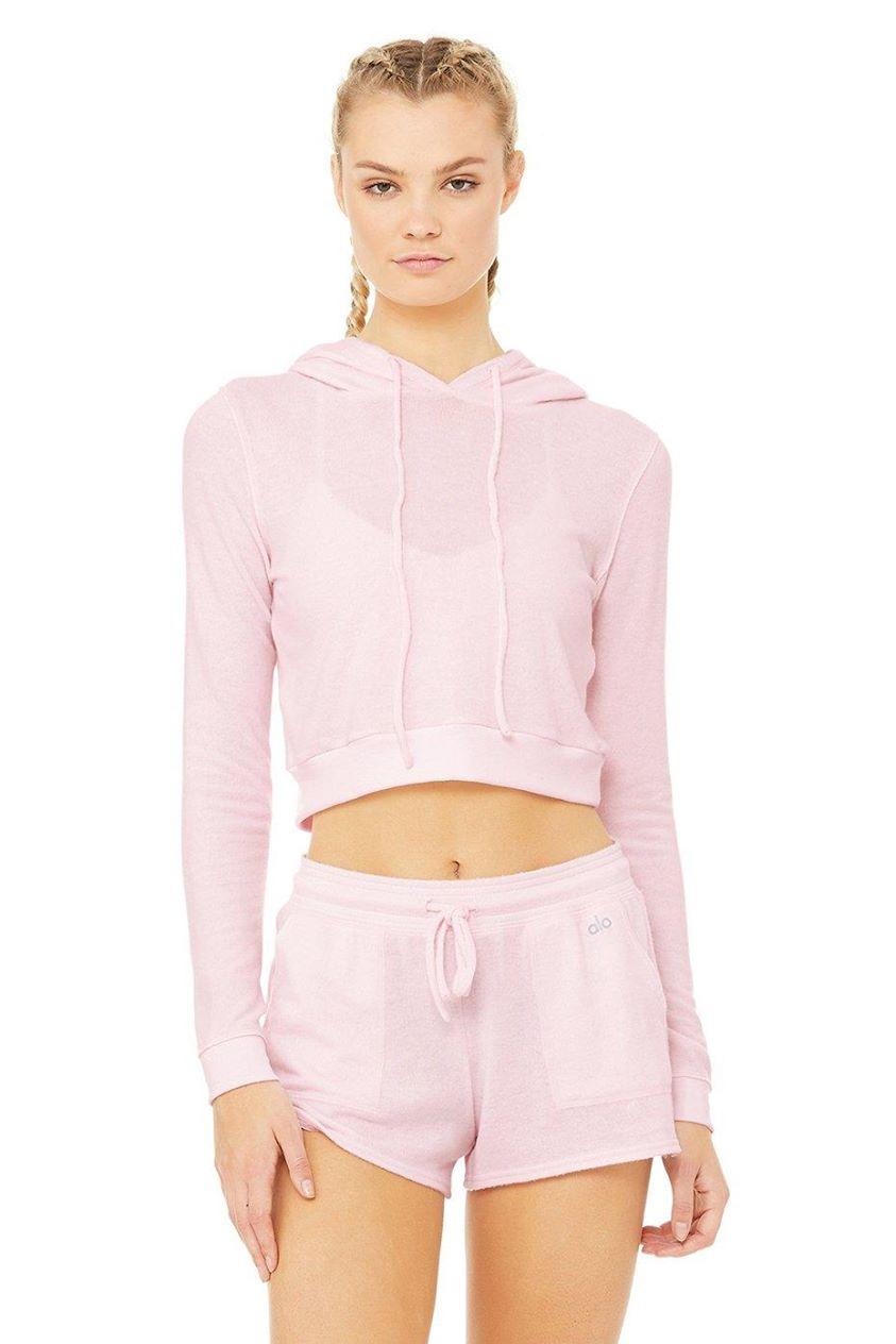 Getaway Hoodie - Soft Pink