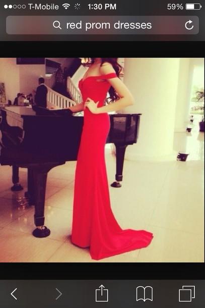 dress red dress long dress prom dress special occasion dress red prom dress red evening dresses sexy dress