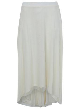 Cream chiffon ballet skirt