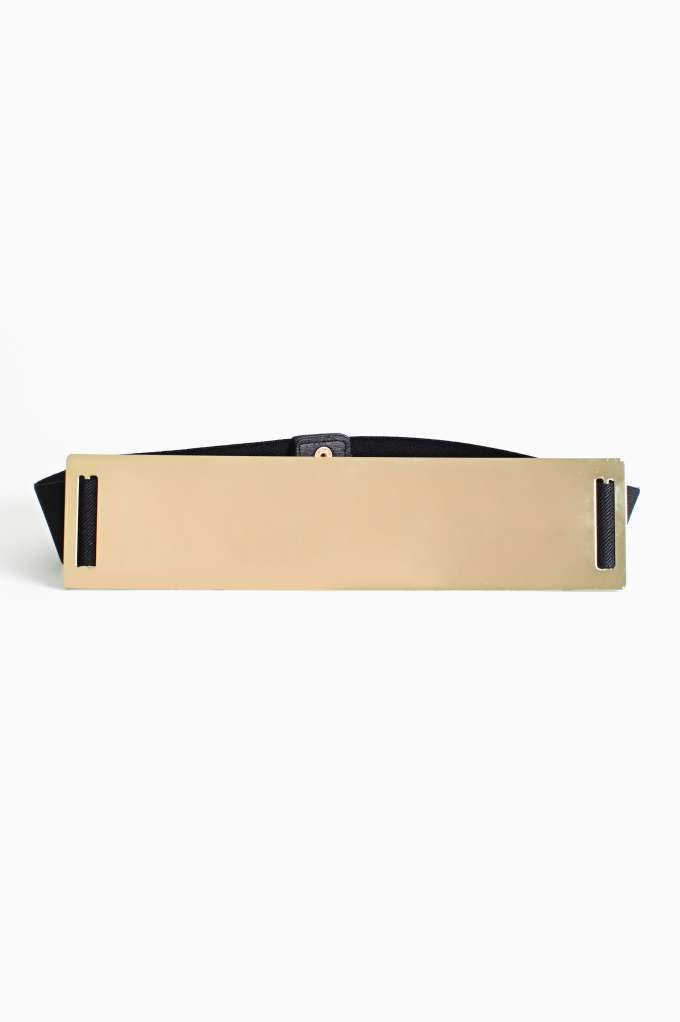 Strike Gold Belt  in  Accessories Belts at Nasty Gal