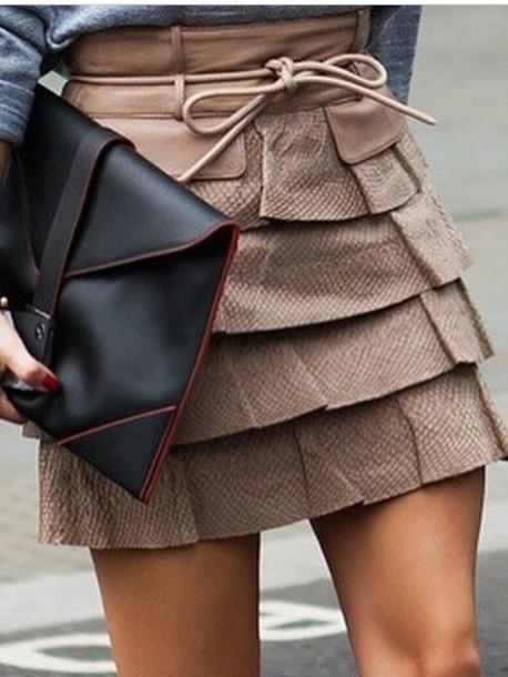 skirt layered skirt skirt