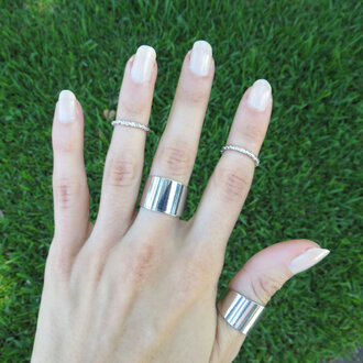 stacked jewelry jewels etsy stacking rings knuckle ring trendy jewelry ring set silver rings above the knuckle ring knuckle ring silver band ring