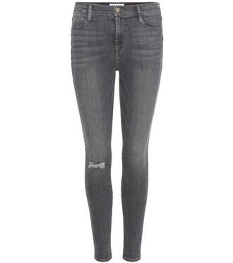 jeans skinny jeans high grey