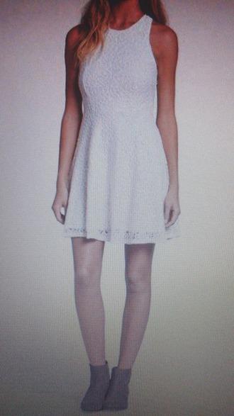 dress lwd little white dress halter dress