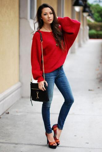 shoes sweater jewels jeans bag hapa time