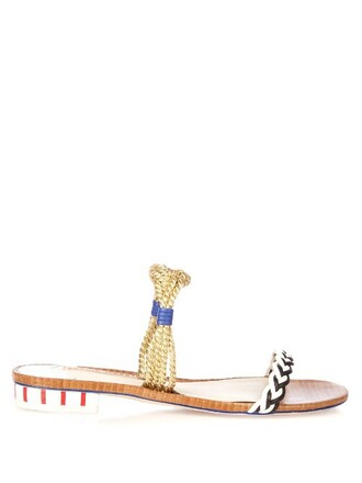 braided sandals leather sandals leather gold shoes