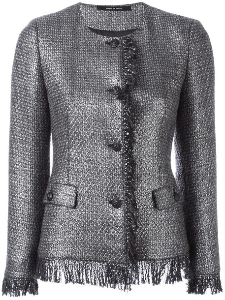 TAGLIATORE jacket women grey