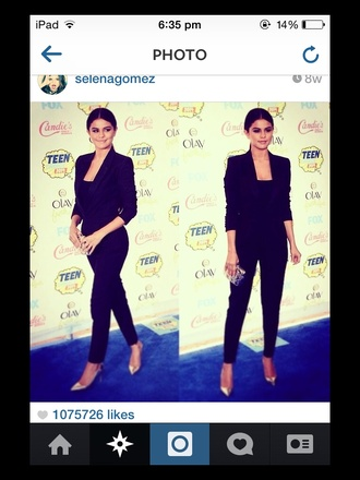 jumpsuit selena gomez selena tca love it