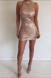 dress,new homecoming dress,sexy homecoming dress,rose gold homecoming dress
