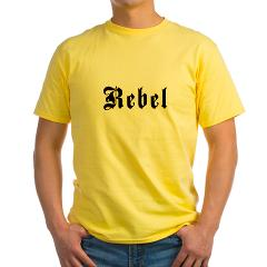 Rebel Yellow T-Shirt