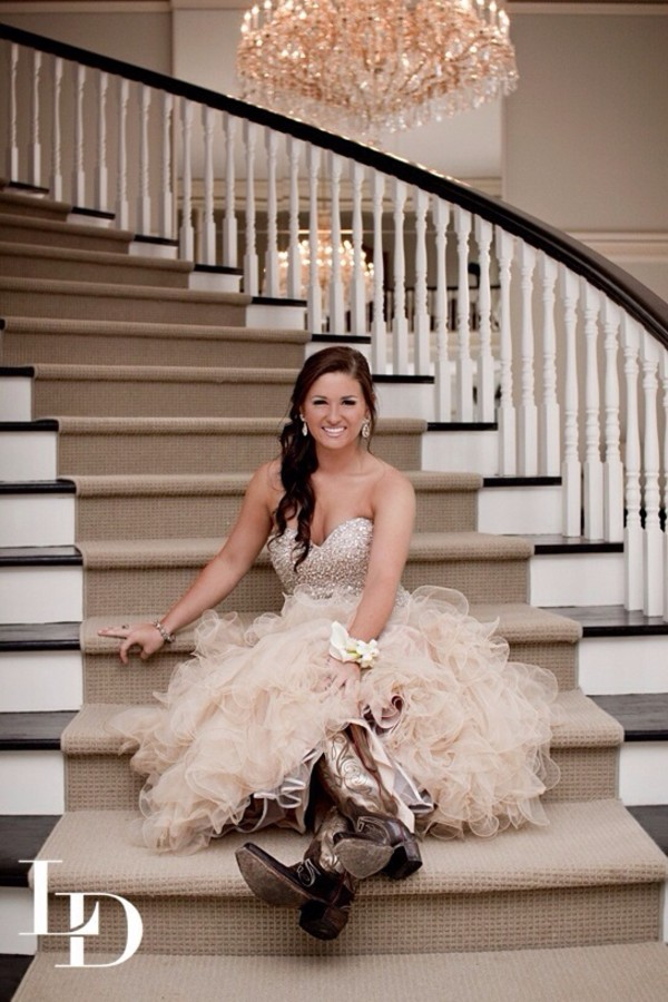 dress nude beige dress sparkle long prom dress prom dress ruffle prom
