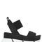 70mm leather platform sandals