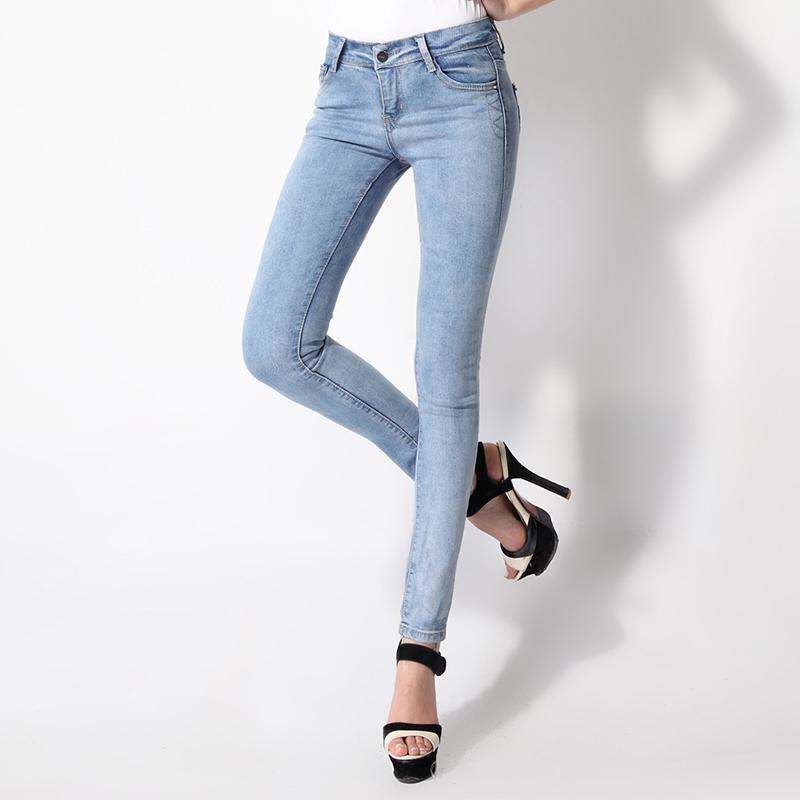 2013 new pants jeans pants korean version of the female feet was thin liu nail bag flower tide pencil pants 8906 #