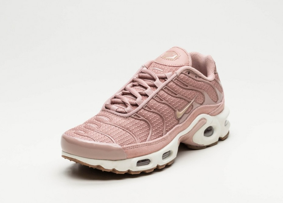Nike Air Max Plus Rose Et Pois Blancs
