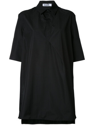shirt oversized shirt oversized women cotton black top
