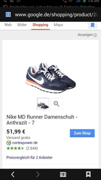 shoes nike md runner