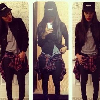 jacket black buttons tomboy baggy teyana taylor hat shoes blouse