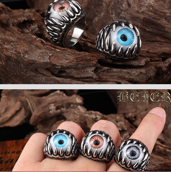 jewels eye jewelry ring rings and tings punk rock fashion trendy