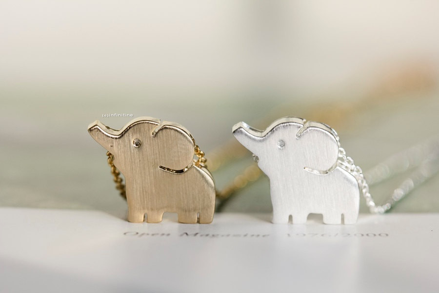 cute elephant necklaces,,N020K