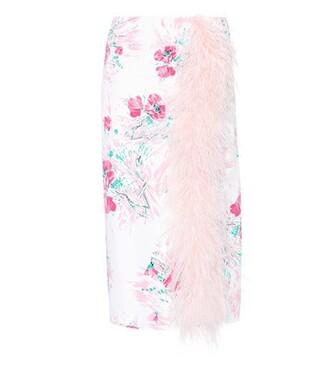 skirt silk