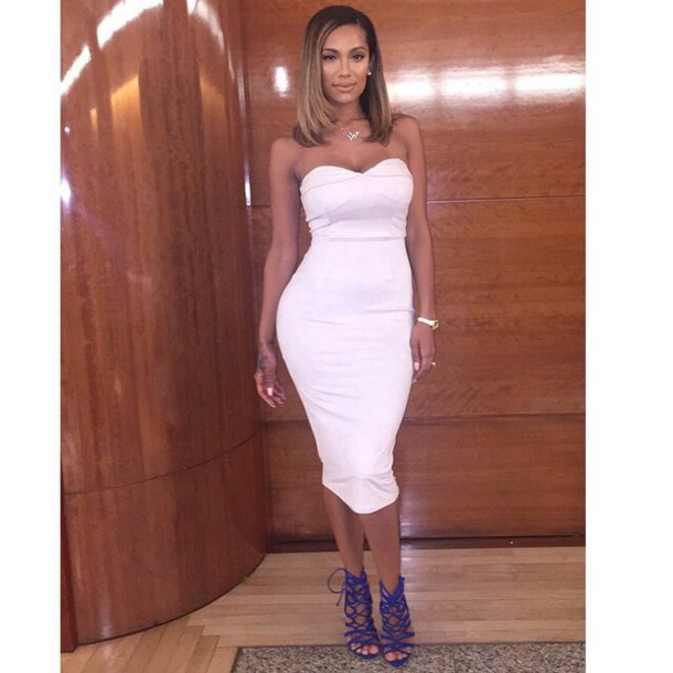 70a454430f shoes high heels cute high heels black high heels royal blue white white  dress strapless strapless