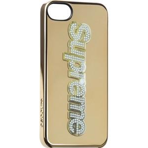 finest selection f4931 b78ba Supreme Incase Iphone 5 Bling Logo Case Gold Camp CAP BOX Logo Safari S S  13   eBay