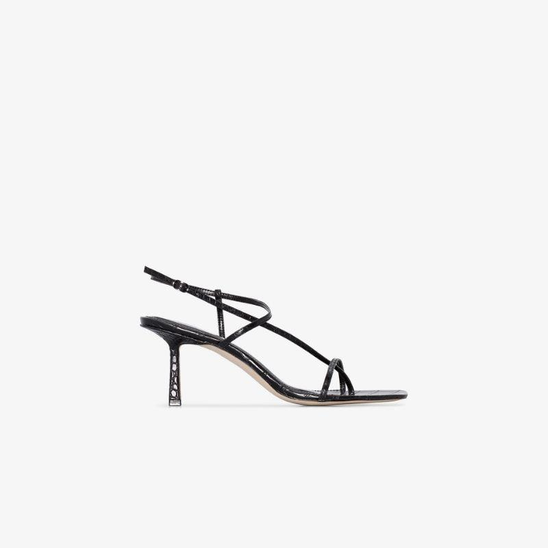 Studio Amelia black 2.4 75 leather sandals