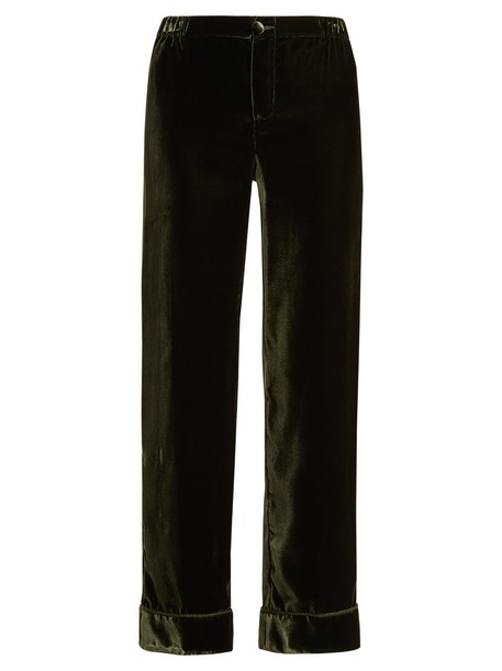 F.R.S - FOR RESTLESS SLEEPERS dark green pants