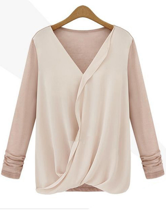 Wendi wrap blouse