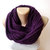 knit purple infinity scarf , eternity scarf,circle scarf ,cowl scarf ,women scarf ,men scarf ,winter scarf senoAccessory