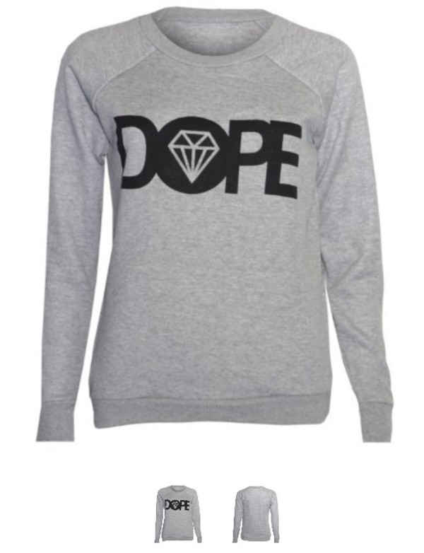 sweater dope pullover diamonds diamond supply co.