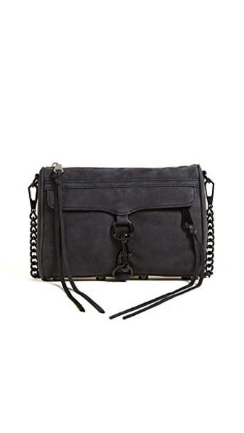 Rebecca Minkoff cross mini bag black