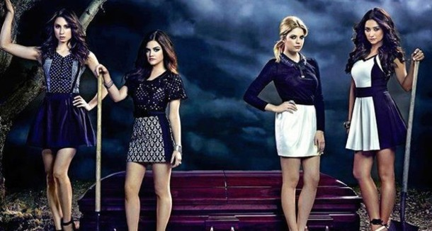 dress black dress white dress pretty little liars black and white dress