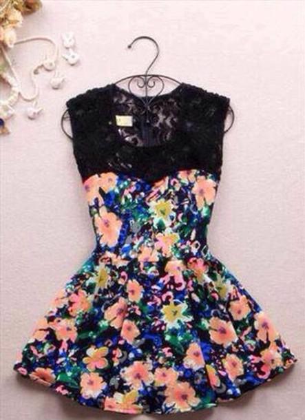 e477bff47f0 dress floral dress floral short dress cute dress floral lace dress flowers  flowers floral dress blue