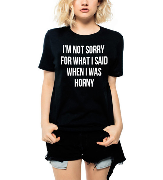 ba439bed1a19 t-shirt, luxury brand la, im not sorry for what i said when i was ...